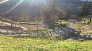 """La pista da motocross """"La Ginestra"""" a Fermignano"""