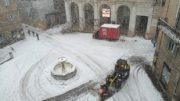 Neve a Urbino: 16 gennaio 2017