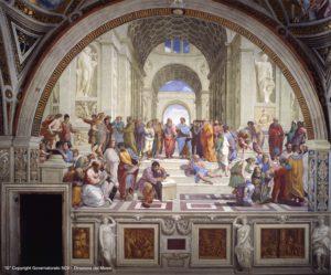 Stanze di Raffaello - Scuola di Atene