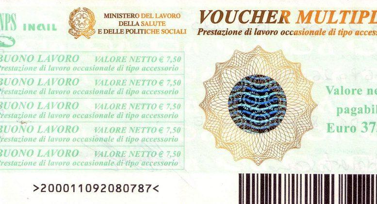 Un esempio di voucher