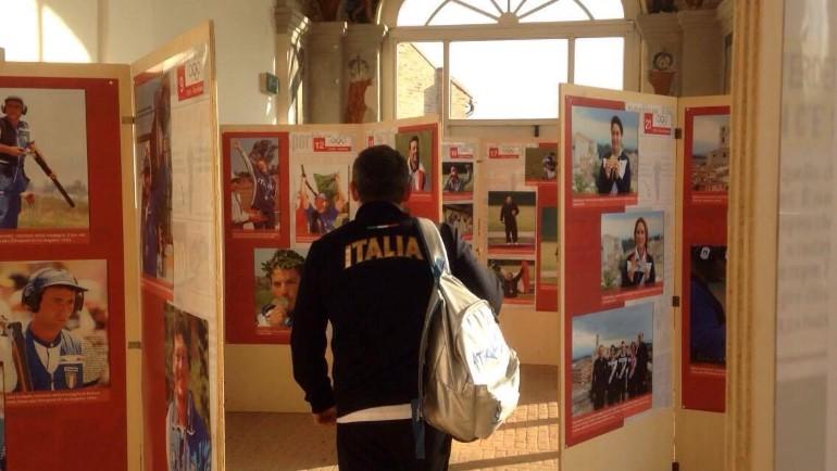 La mostra sul tiro a volo a Urbino