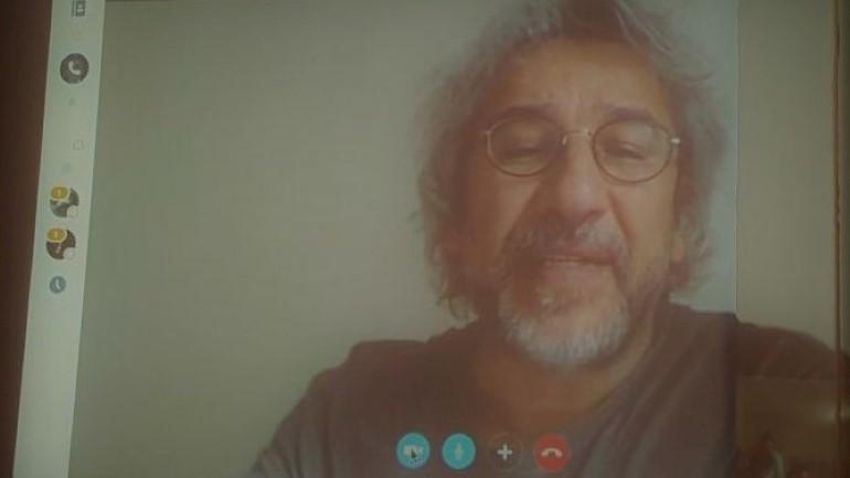Il giornalista turco Can Dündar in collegamento Skype con gli studenti dell'Ifg di Urbino