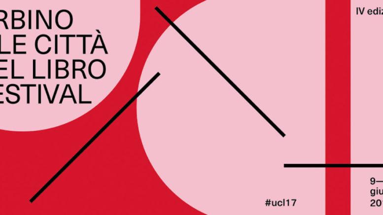 La locandina della quarta edizione del festival 'Urbino e le città del libro'