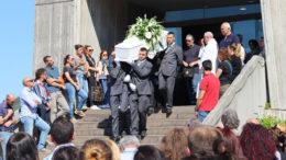 I funerali di Francesco Bonifazi a Cagli