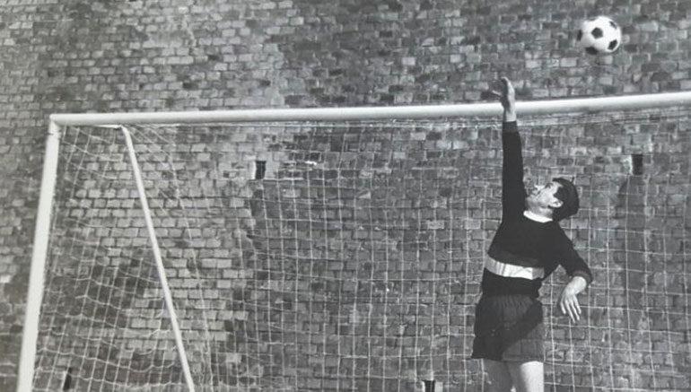 """Una foto d'epoca scattata durante un torneo nel campo della """"Buca"""""""