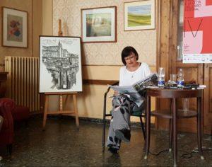 Benedetta Centovalli alla rassegna stampa delle pagine culturali