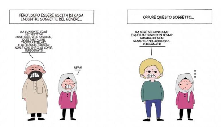 Takoua i miei fumetti contro i pregiudizi sull islam in - Perche le donne musulmane portano il velo ...