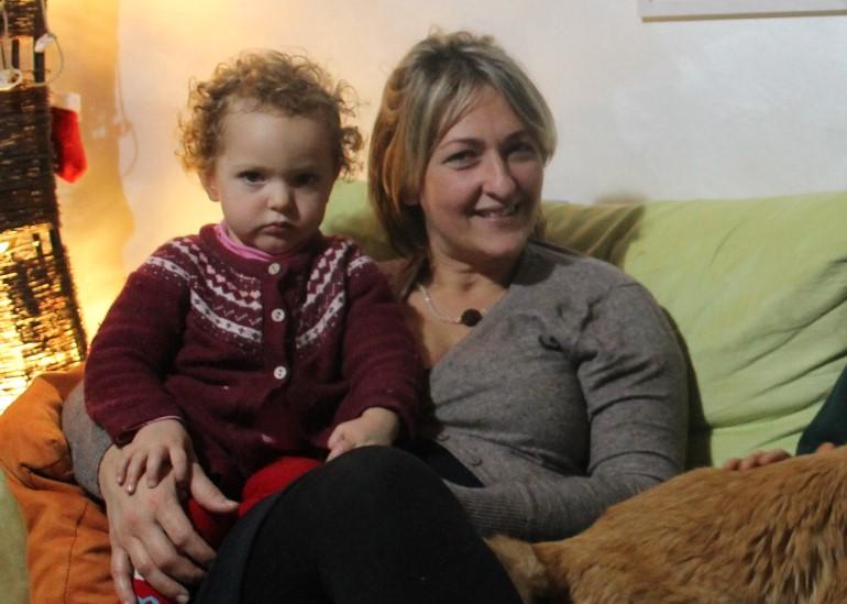 Marica Lampugnani e sua figlia Laurel Astrid
