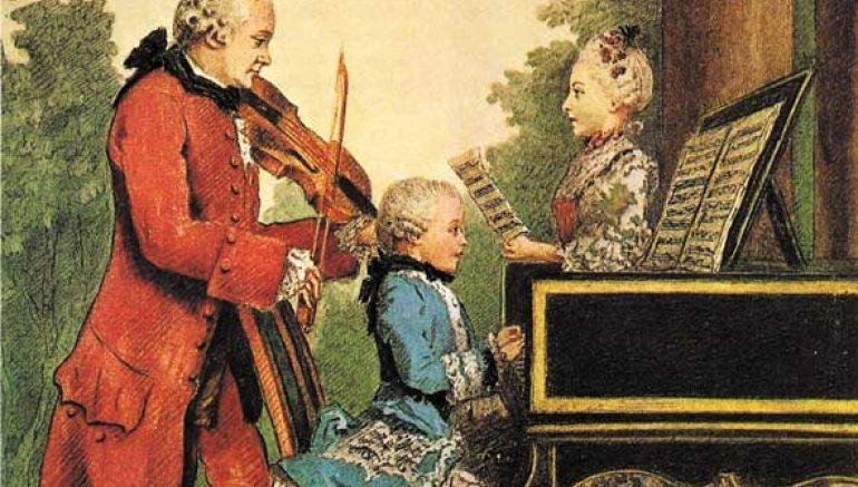 Luis Carrogis de Carmontelle, Mozart (1763)