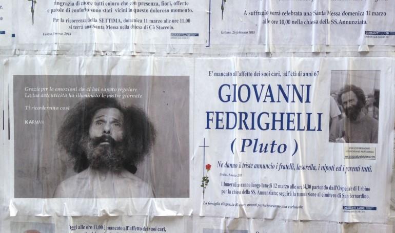 """Il manifesto che annuncia la morte di """"Pluto"""""""