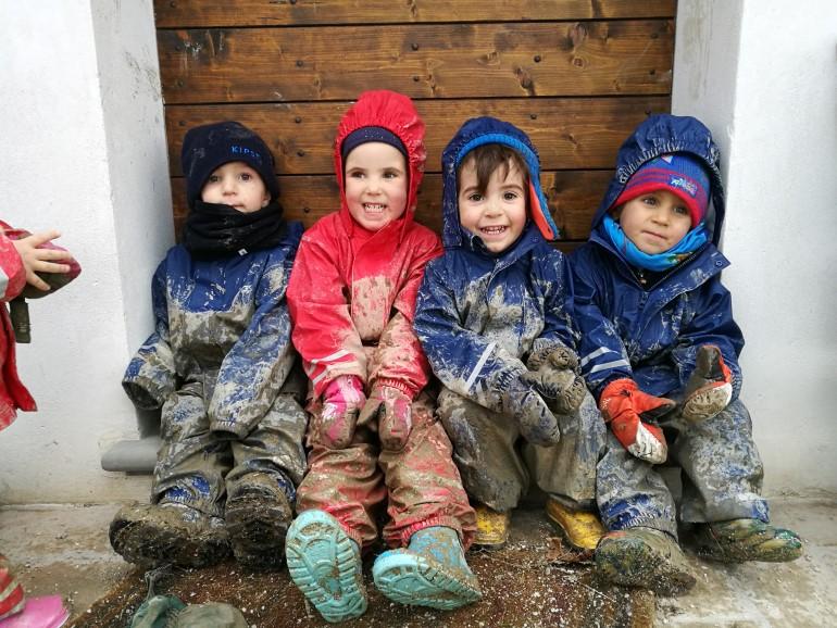 Alcuni bambini del progetto