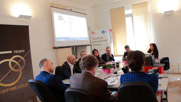 L'incontro sulla comunicazione d'impresa con Biesse Group all'Ifg di Urbino